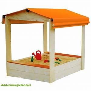 Bac à Sable Bois : bac sable en bois avec toiture produit de qualit et ~ Premium-room.com Idées de Décoration