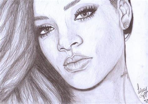 My Rihanna Drawing  Artsy In 2019  Art, Rihanna, Rihanna