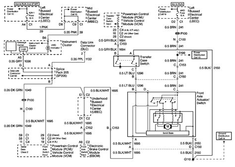 1999 Gmc Suburban Transfer Wiring Diagram by Repair Guides Drive 1999 Transfer