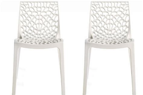 chaises blanches pas cher chaise design gruyere blanche pas cher chaises design