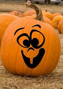 12, Pumpkin, Faces, Halloween, Vinyl, Decal, Stickers, Fall