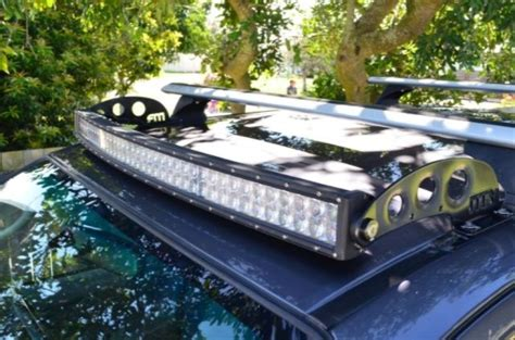 newhiluxnet view topic  product   hilux roof mount led light bar brackets