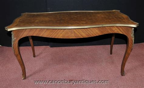 Shop furniture, home décor, cookware & more! French Empire Coffee Table Parquetry Inlay Tables