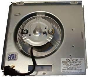 nutone motor 8663rp assembly 97017705 1550 rpm 1 2 s 115 volts electric fan motors