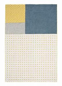 Tapis Jaune Et Noir : tapis jaune achat vente de tapis pas cher ~ Teatrodelosmanantiales.com Idées de Décoration