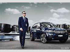 Jesse Maricic BMW X5 M50d 2014 campiagn editorial photo