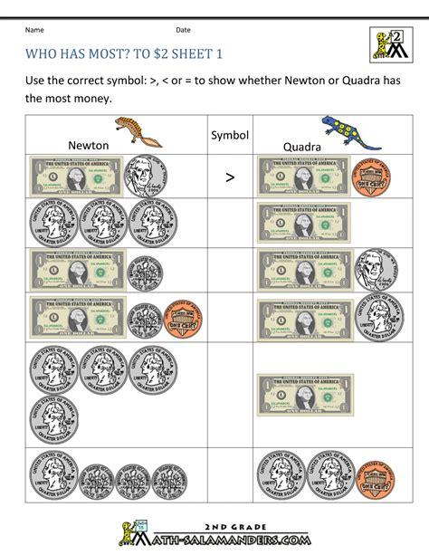 money worksheets worksheets  math worksheets  pinterest