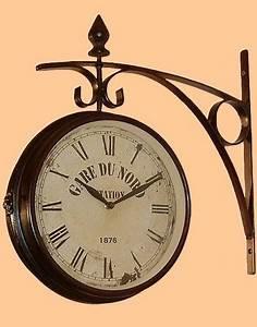 Horloge De Gare : decoration murale horloge de gare ~ Teatrodelosmanantiales.com Idées de Décoration