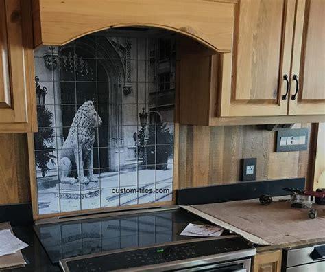 custom kitchen backsplash tiles 44 best custom printed tile mural backsplash images on 6346