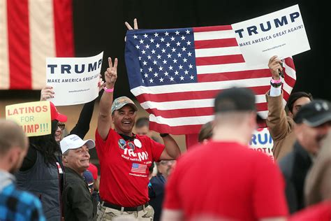 trump rally donald republican mesa costa presidential thursday night orange county candidate protests close supporters april oc scpr
