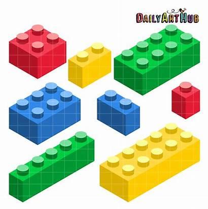 Blocks Building Lego Clip Clipart Block Cartoon