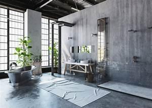 Salle De Bain Style Industriel : salle de bain 10 tendances populaires en 2018 ~ Dailycaller-alerts.com Idées de Décoration