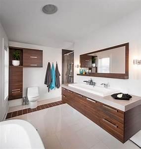vanite de salle de bain en melamine collection armoires With armoire de salle de bain bois