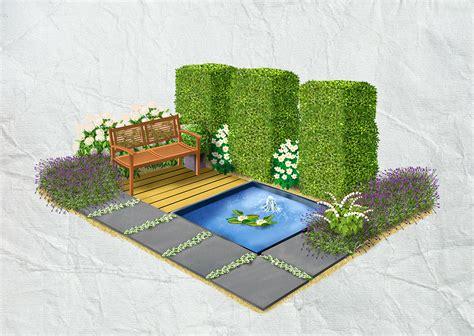 Formaler Garten Obi