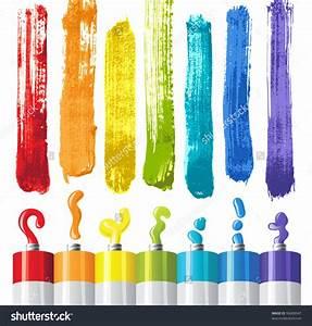 Oil Paints Clipart