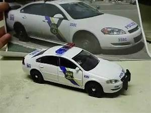Scale Model Police Lights Custom 1 32 Scale Diecast Philadelphia Police Chevy Impala