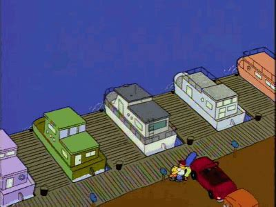 Houseboat Gif by Dead Homer Society Simpsons Must Die Page 2