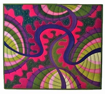 Decorative Stitches Quilt Jane Sassaman Quilting Machine