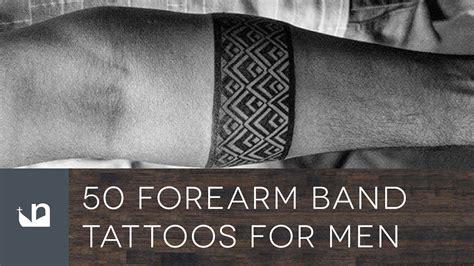 forearm band tattoos  men youtube
