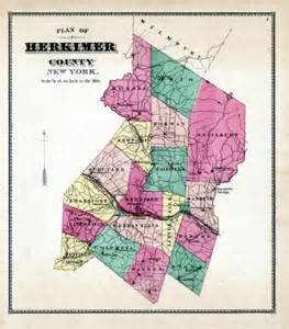 Herkimer County New York Map