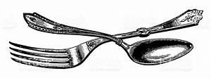 Vintage Fork Clipart (62+)