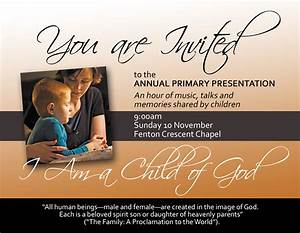 lds primary presentations party invitations ideas With lds powerpoint templates