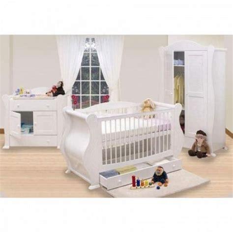 buy tutti bambini 3 sleigh room set white