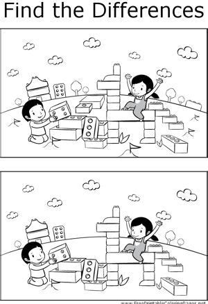 kids  enjoy finding  differences