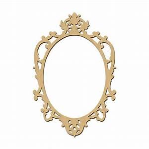 Cadre à Décorer : sujet en bois m dium photobooth cadre baroque ovale 60 ~ Zukunftsfamilie.com Idées de Décoration
