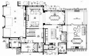 modern home plan modern house floor plans decoration