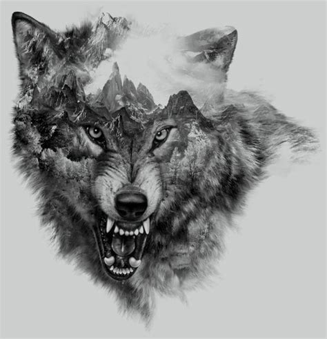 1000+ Images About Awesome Wolf Tattoos On Pinterest