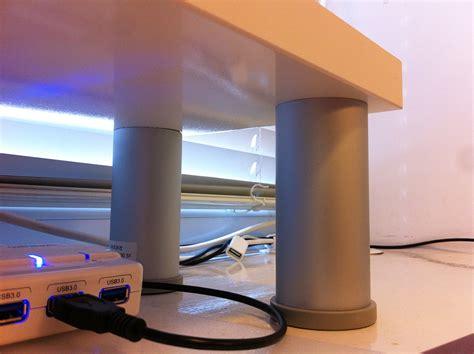 Monitor Shelf For Desk Ikea by Apple Style Monitor Shelf Ikea Hackers Ikea Hackers
