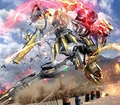 Lupus Rex Barbatos Gundam Asw Epic