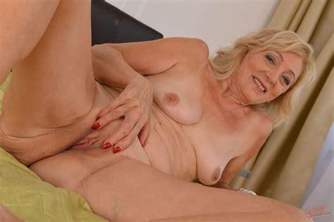 Mature Blond 65yo Granny Kamilla Gets Boned And Spermed By