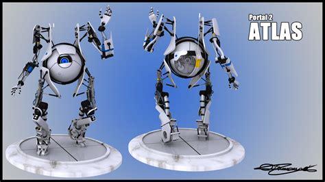 Portal 2 Atlas Character