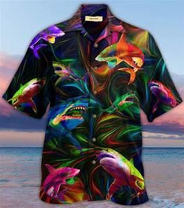 Amazing Shark Unisex Hawaiian Shirt