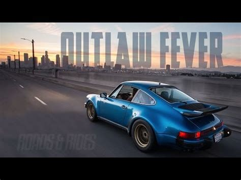 Vacker Porsche-poesi Från Downtown La