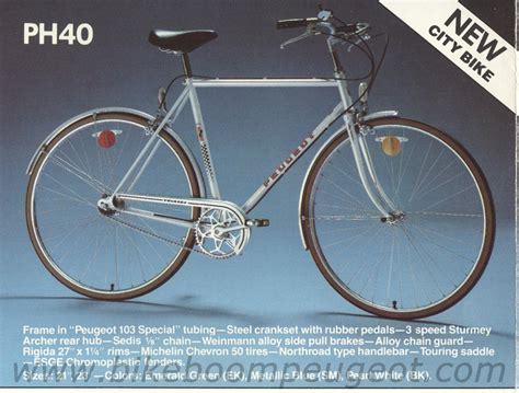 Peugeot Usa Bikes by Peugeot 1981 Usa B