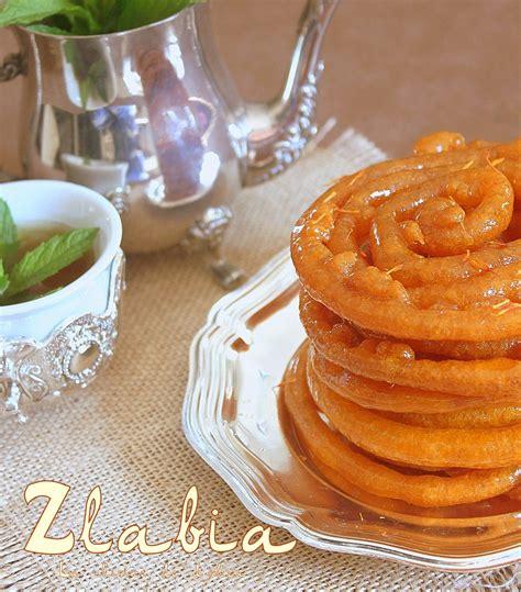 cuisine orientale pour ramadan zlabia الزلابية patisserie orientale ramadan recettes