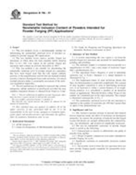 Norma ASTM E562-11 1.10.2011