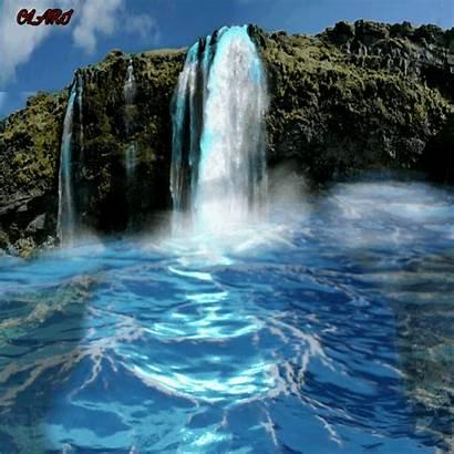 Waterfall Nature Picsart Oceanview Mycreation
