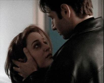 Scully Mulder Expediente Akte Dana Gifs Kiss