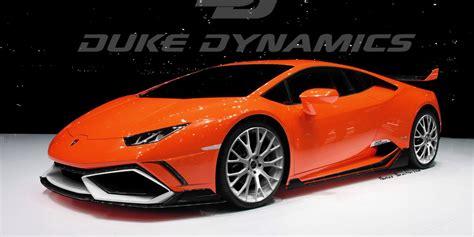 Lamborghini Huracan Modification by Modified Lamborghini Huracan Previewed By Duke Dynamics