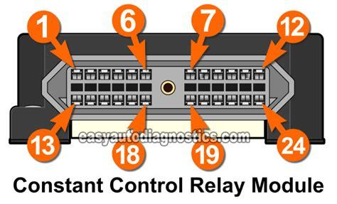 Constant Control Relay Module Ccrm Circuits