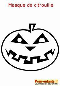 Masque Halloween A Fabriquer : halloween coloriage masque citrouille enfant fabrication ~ Melissatoandfro.com Idées de Décoration