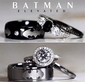 These are the ultimate wedding rings for hardcore movie for Batman wedding rings for her