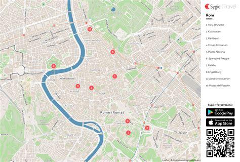 karte von rom ausdrucken sygic travel