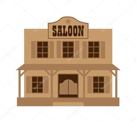 Wild west saloon — Stock Vector © scrapster #129402192