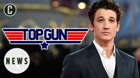 Teller is the first new cast member to be announced for the production. Top Gun 2: Miles Teller to Play Goose's Son Opposite Tom ...