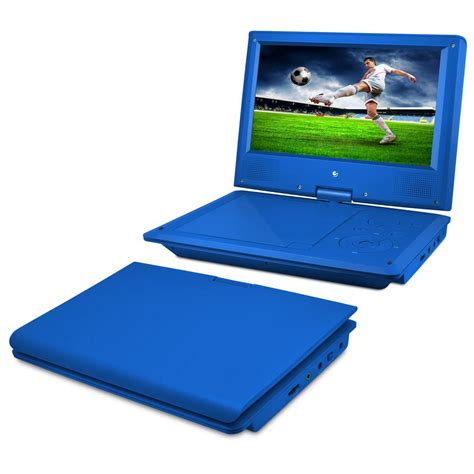 portable player ematic 9 in portable dvd player with heaphones and